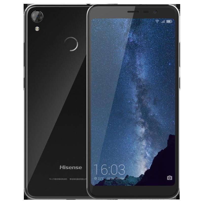海信/hisense 哈利手机 星空黑 4gb 32gb 全面屏手机 双卡双待 全网通